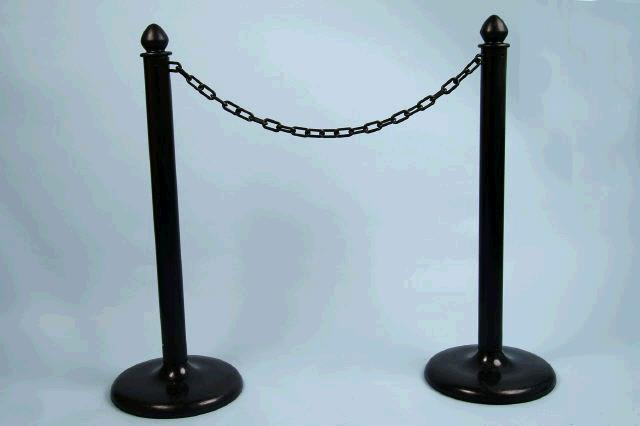 Where to find PLASTIC BLACK STANCHION in Mt Pleasant